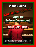 CHRISTMAS SPECIAL - Piano Tunings