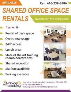 Shared Office Space Rentals Etobicoke ( The Training Academy )