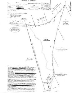 terra à bois pour la chasse à St-André Avellin de 61 acres