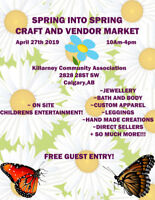 Spring Market looking for A few more Vendors!