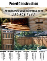 Construction and Renovation Services - Foord Construction