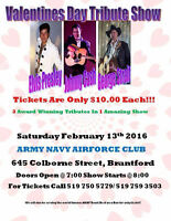 Valentines Day Tribute Show