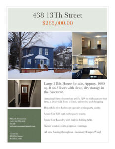 Rent To Own 3-Bedroom Home