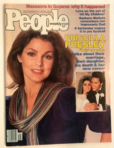 6 VINTAGE MAGAZINEs PRISCILLA PRESLEY ON COVER ELVIS CELEBRITY