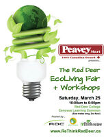 2017 Red Deer EcoLiving Fair + Workshops
