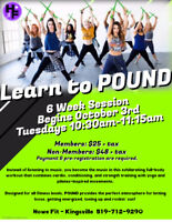 Learn to POUND