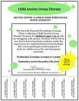 Child Anxiety Group Therapy Program