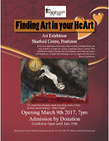 Finding Art in Your HeArt Exhibition opening Thursday