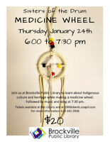 MEDICINE WHEEL WORKSHOP with Sisters of the Drum