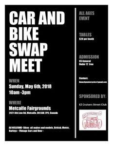 Metcalfe Spring Automotive Swap Meet
