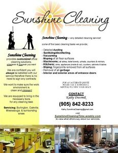 Sunshine Cleaning - no contract required Oakville / Halton Region Toronto (GTA) image 2