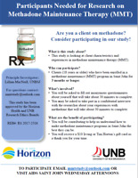 Participants Needed for Study on Methadone Maintenance Therapy