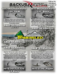 Timbersled Track Kit Special