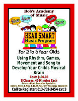 Group Music Classes- from Infants to Youths