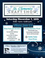 St. Clements Craft Show