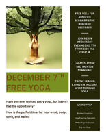 Free Yoga for absolute beginners