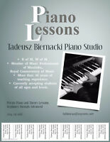 Piano Lessons in Riverbend and West Kildonan