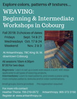 Workshop: Beginner & Intermediate Weaving in Cobourg