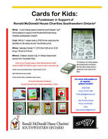 Cards for Kids: A Fundraiser in Support of Ronald McDonald House