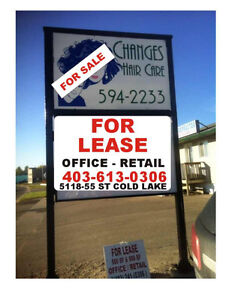 commercial space for lease cold lake AB $1000.00 /403-613-0306