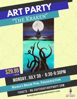 East Coast Art Party - The Kraken