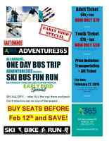 Day Trip to SKI in Mattawa - Tickets on sale now!
