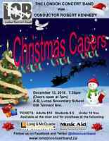 """London Concert Band - """"Christmas Capers"""""""