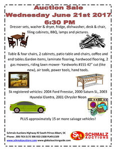 household & vehicle auction!