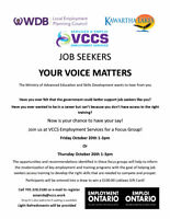 FOCUS GROUP FOR JOB SEEKERS