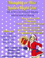 Naughty or Nice Ladies Night Out