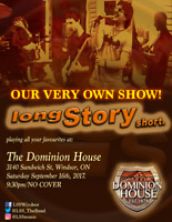 PERFORMING ALL THE CLASSICS: LONG STORY SHORT AT THE DH!