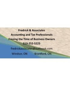 Income Tax Preparation and Tax Planning