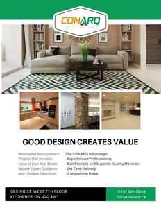 Good design creates value. Ask for a free estimate today! Kitchener / Waterloo Kitchener Area image 1