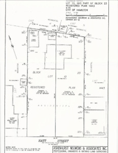 2 LOTS for Sale in the City of Dundas (King St. & Market St.)