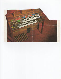 Thomas Electric Organ/With Bench