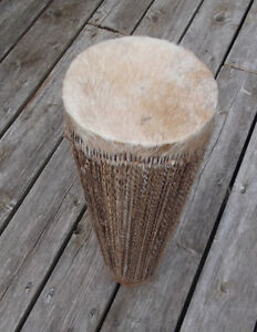 Two-headed African drum