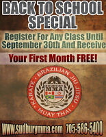 Premier Martial Arts Facility - ONE MONTH FREE!