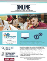 Online Learning Information Session