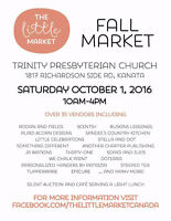 Vendor and craft sale this Saturday!! Support local!