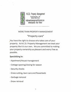 ncd property management