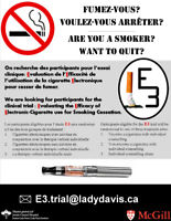 Are you a SMOKER? Want to QUIT? -Quebec