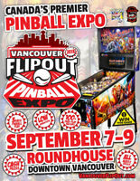 Vancouver FlipOut Pinball Expo ( Sep 7-9 ) Register Now!