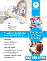 Efficient Cleaners - Quality clean at an affordable price