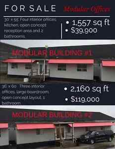 30'x55' & 36'x60' Modular Office Building For Sale