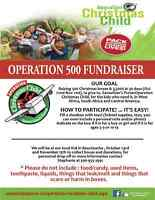 Operation 500 - Operation Christmas Child