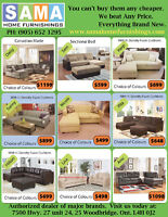 ★★★TODAY SALE GET BRAND NEW MODERN FABRIC SECTIONAL $498★