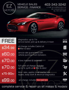 SAVE BIG ON AUTO REPAIR!!! UP TO $90/HR. CALL 403-343-3242