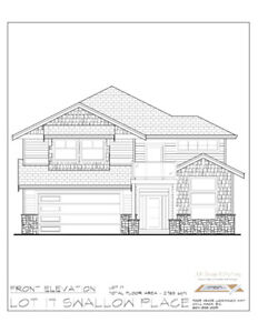 New Construction 5 bedroom home with huge tiled walk in shower