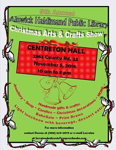 The 9th Annual Centreton Christmas Arts & Crafts Show Kawartha Lakes Peterborough Area image 1