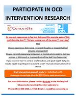 PARTICIPATE IN OCD RESEARCH!